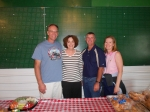 Bill Spelic, Mary Glaser, Mike Pritchard, Celia (Vlasin) Martin